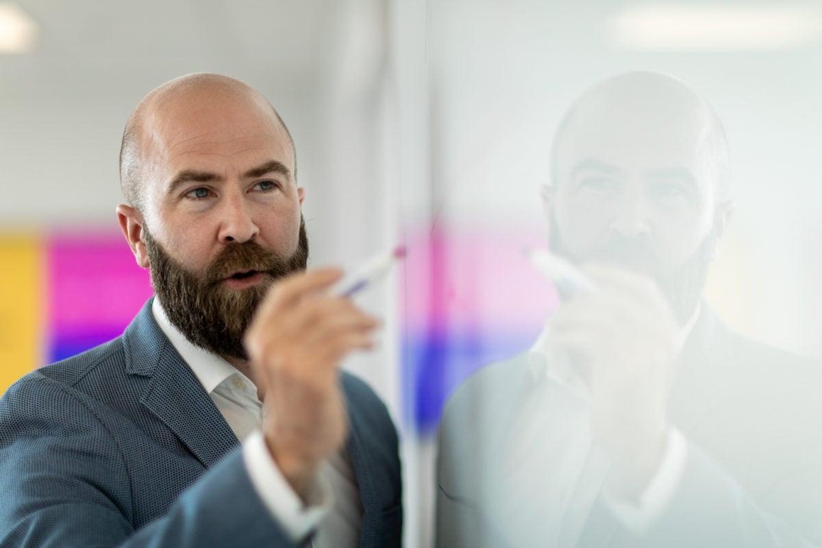 Resan till lojala kunder och lönsamhet – och så arbetar en av Sveriges största banker